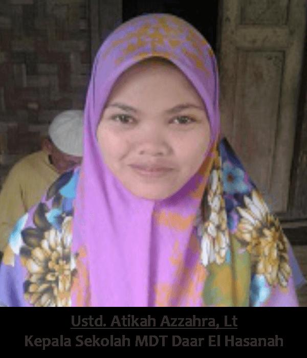 Ustd. Atikah Azzahra, Lt - Ponpes Daar El Hasanah