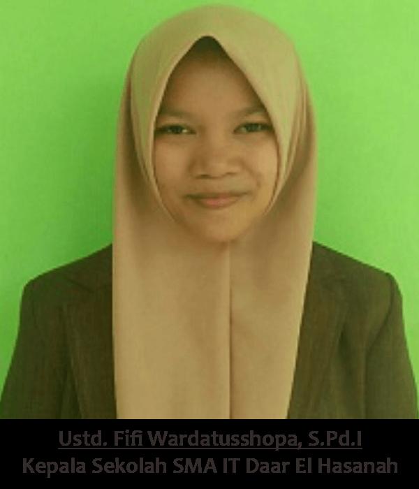 Ustd. Fifi Wardatusshopa, S.Pd.I - Ponpes Daar El Hasanah